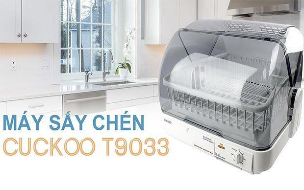 Máy sấy chén bát đĩa tự động CUCKOO CDD-T9033