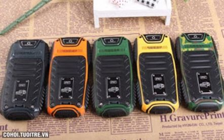 Điện thoại chống nước Hummer H2 2 sim 2 sóng