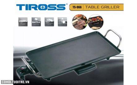 Vỉ nướng điện Tiross TS966 công suất 1900W