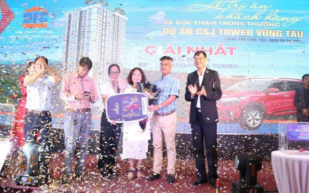 Thay lời cảm ơn, CSJ Tower Vũng Tàu tổ chức tiệc tri ân khách hàng