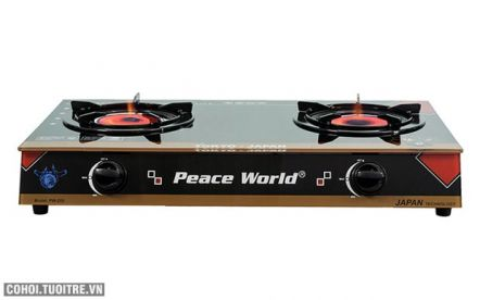 Bếp gas hồng ngoại cao cấp Peace World PW-255 HNH