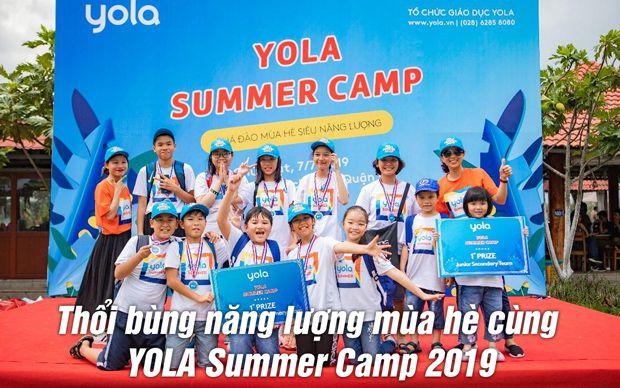Thổi bùng năng lượng mùa hè cùng YOLA Summer Camp 2019