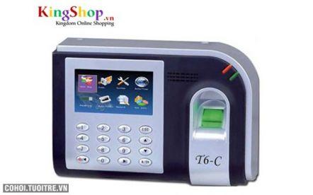 Máy chấm công vân tay, thẻ cảm ứng Ronald Jack T6-C