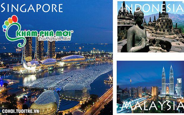 Du lịch Singapore, Indonesia, Malaysia giá rẻ