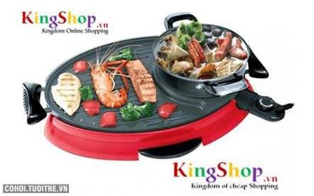Bếp lẩu nướng Legi LG-09LO công nghệ Hàn Quốc
