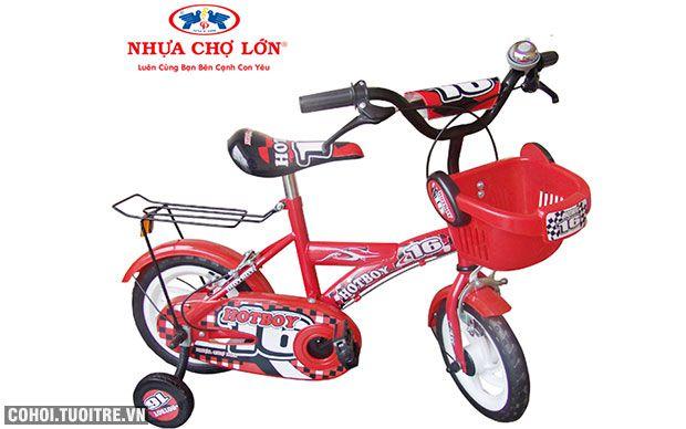 Xe đạp trẻ em 2 bánh Nhựa Chợ Lớn 72- M1391-X2B