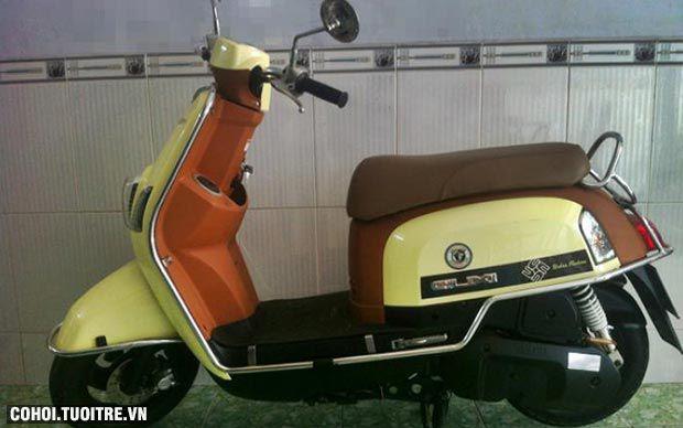 Xe Yamaha CUXI Fi màu vàng chanh