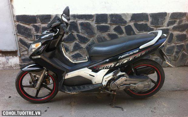 Xe Yamaha Nouvo 3, màu đen, bánh mâm