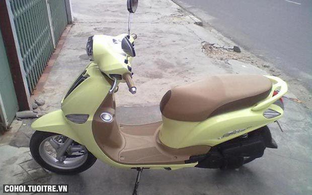 Xe Yamaha Nozza FI đời 2012 màu vàng chanh