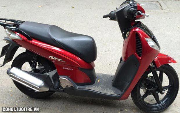Xe SHi 150cc Đài Loan, màu đỏ đô