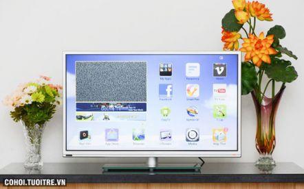 """Smart Tivi LED 39"""" kết nối Internet giảm 2 triệu đồng"""