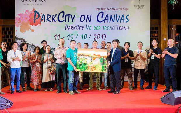 Thiên nhiên ParkCity - nguồn cảm hứng bất tận của hội họa