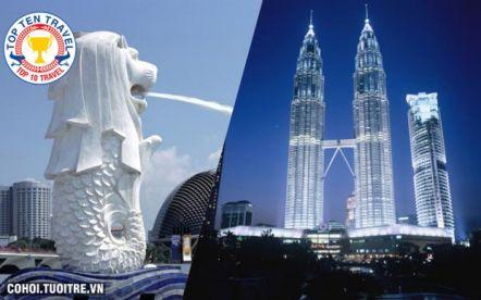 Tour du lịch Singapore - Malaysia hàng tuần