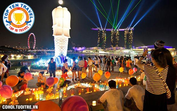 Tour Malaysia, Singapore trả góp chỉ 5.900.000đ