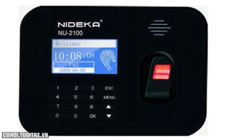 Máy chấm công vân tay Nideka NU-2100