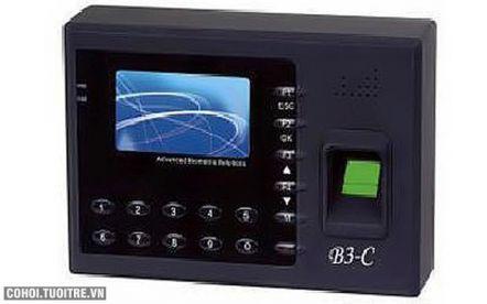 Máy chấm công vân tay và thẻ cảm ứng ZK Software B3-C