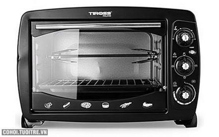 Lò nướng Tiross TS960, công suất 1.600W