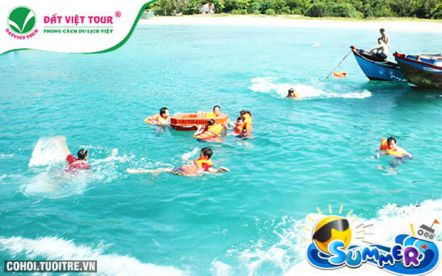 Tour du lịch khám phá đảo Bình Ba 2N2Đ