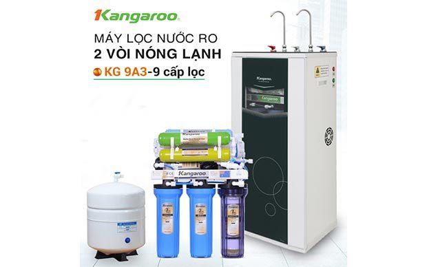 Máy lọc nước RO nóng lạnh 2 vòi Kangaroo KG09A3
