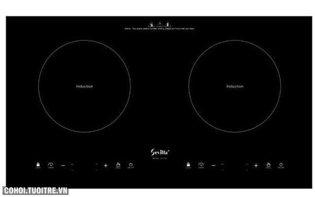 Bếp điện từ đôi cảm ứng Sevilla SV-73II