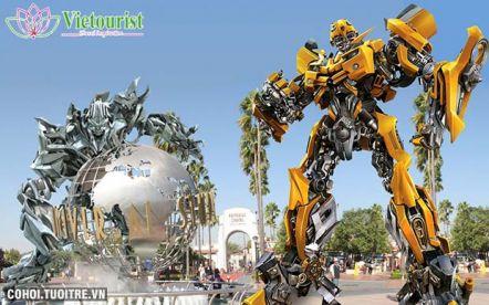 Tour du lịch Singapore - Universal Studios 3N2Đ