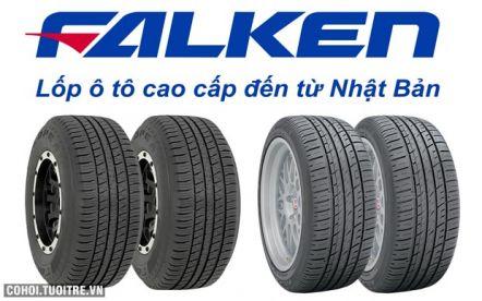 Mua lốp xe Falken được tặng xăng miễn phí