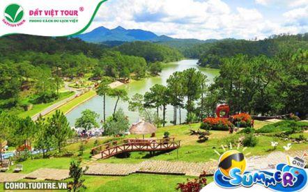 Tour du lịch Đà Lạt 3N3Đ khách sạn 4 sao