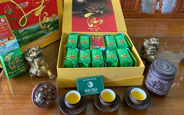 Hải Trà Tân Cương bán chè Thái Nguyên, Hộp Trà Quà Tặng
