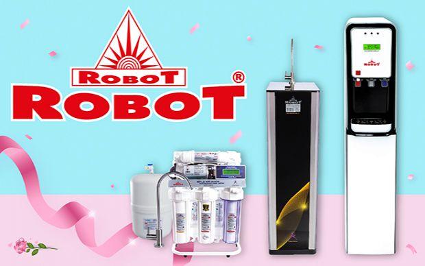 Máy lọc nước ROBOT chúc mừng 20-10 - Mua 1 được 4, quà tặng hấp dẫn
