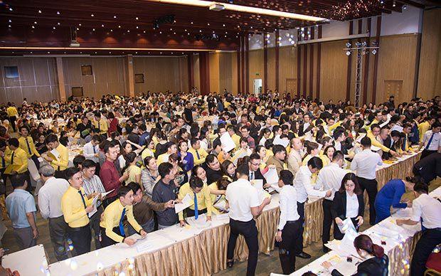 Hơn 800 khách hàng tham dự mở bán Mỹ Gia, Nam Đà Nẵng