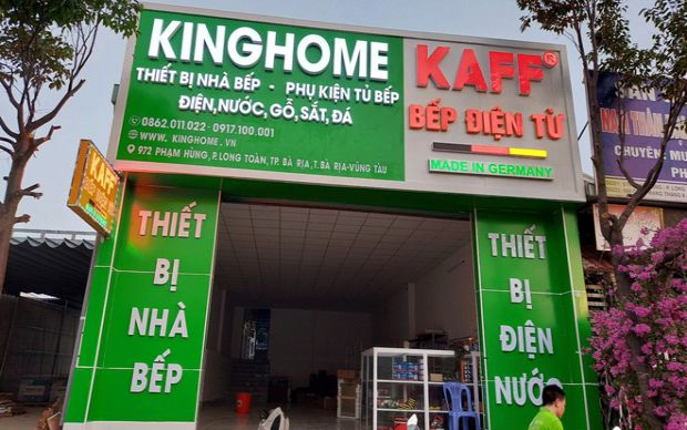 Tưng bừng khai trương chi nhánh KingHome Bà Rịa