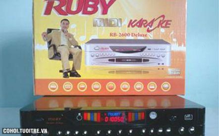 Đầu MIDI Karaoke 5 số Ruby MD 3600 II