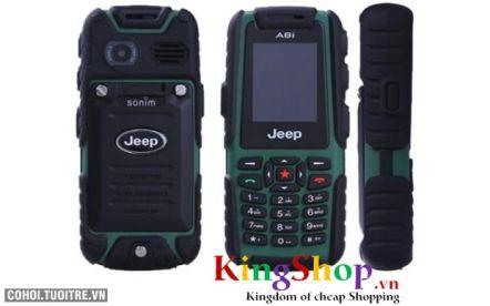 Điện thoại di động Jeep A8i kiểu dáng độc
