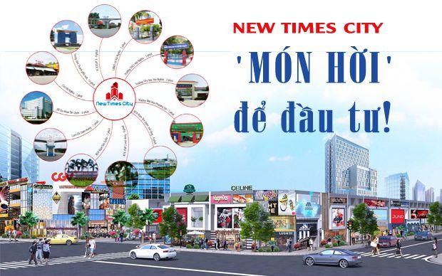 New Times City - món hời để đầu tư