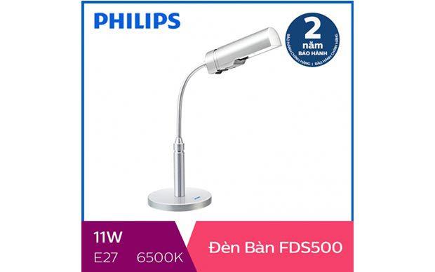 Đèn bàn, đèn học sinh chống cận LED Philips FDS500 11W