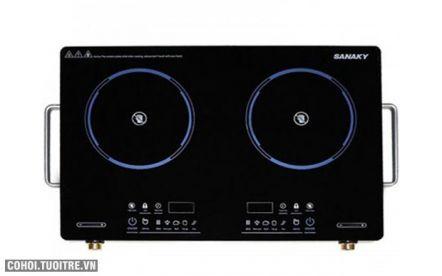 Bếp hồng ngoại đôi Sanaky AT-203HGNW