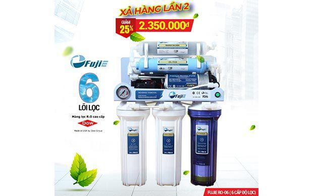 Máy lọc nước FujiE RO-06 - 6 cấp độ lọc