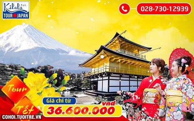 Rực rỡ chùm tour Nhật Bản dịp Tết Nguyên đán