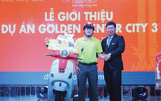 95% sản phẩm Golden Center City 3 được đặt chỗ