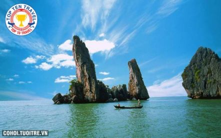 Tour Hà Tiên - đảo Hải Tặc - chợ Tịnh Biên - Châu Đốc 2N2Đ