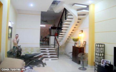 Nhà phố 3 tầng thiết kế hiện đại quận Gò Vấp