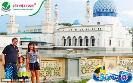 Du lịch Brunei - Kota Kinabalu 4 ngày 3 đêm