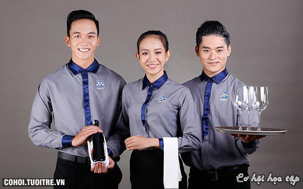 Lý do giới trẻ chọn ngành quản trị nhà hàng - khách sạn