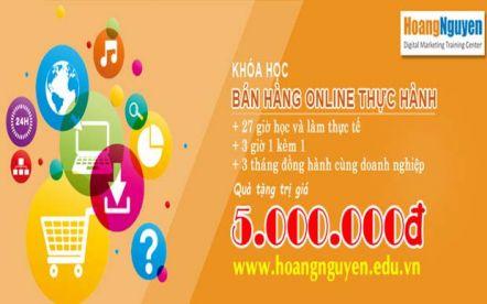 """Khóa học """"Bán hàng online thực hành"""""""