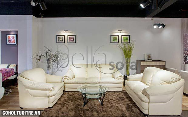 Sofa da bò 330