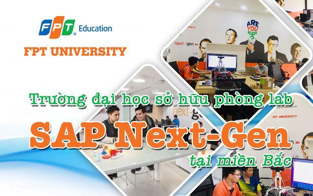 Trường đại học sở hữu phòng lab SAP Next-Gen tại miền Bắc