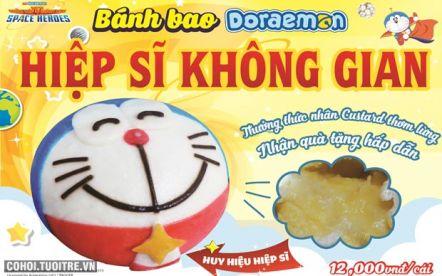 Bánh bao Doraemon - hiệp sĩ không gian