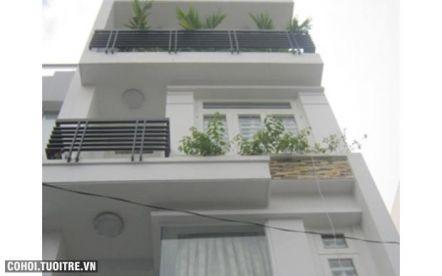 Nhà hẻm 6m đường CMT8 quận Tân Bình