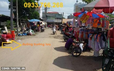 Nền đất thổ cư mặt tiền đường Trường Lưu quận 9