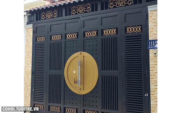 Nhà đúc 4 tấm ở P.13, Q.Tân Bình, TP.HCM